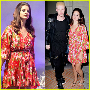 Lana Del Rey & Shaun Ross Have 'Tropico' Reunion After Her Concert