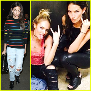 Lily Aldridge Says Happy 26th Birthday to Her Partner in Crime Candice Swanepoel