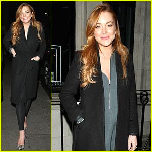 Lindsay Lohan Says Oscar de la Renta Was Remarkable Legend