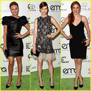 Malin Akerman & Scandal's Darby Stanchfield Have the Enviroment on Their Minds!