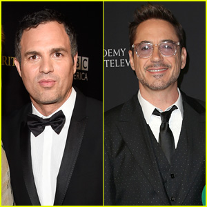 Mark Ruffalo & Robert Downey Jr Honored at Britannia Awards