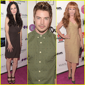 Mary Louise-Parker & Josh Henderson Step Out for a Night of Best In Drag 2014