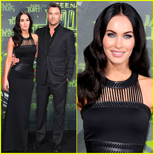 Megan Fox & Brian Austin Green Are One Hot Couple at 'Teenage Mutant Ninja Turtles' Premiere!