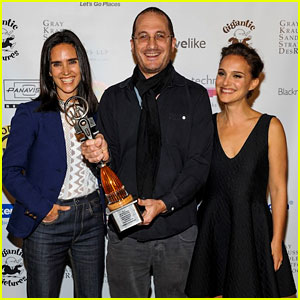 Natalie Portman & Jennifer Connelly Honor Their Pal Darren Aronofsky at Woodstock Film Festival