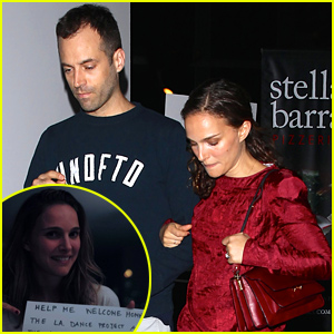Natalie Portman Takes Over Her Husband's Social Media Pages!