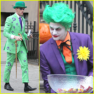 Neil Patrick Harris & David Burtka Become Batman Villains on Halloween