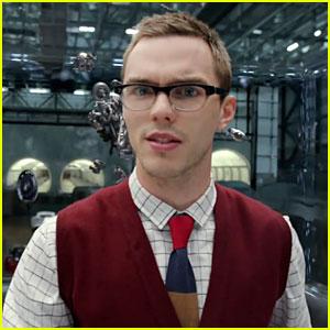 Nicholas Hoult Is a Geek Chic Villain in 'Jaguar' Commercial