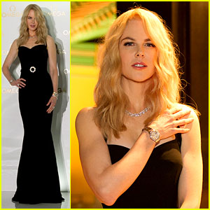 Nicole Kidman Debuts Super Blonde Hair in South Korea