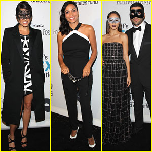 Nikki Reed & Rosario Dawson Kick Off Halloween Weekend with UNICEF