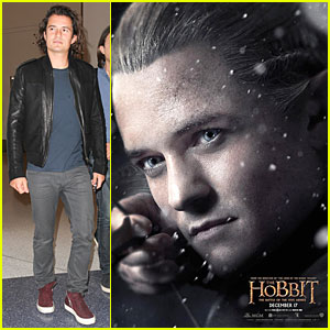 Orlando Bloom's Legolas Takes Aim in New 'Hobbit: The Battle of the Five Armies' Character Poster