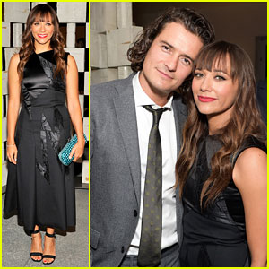 Orlando Bloom & Rashida Jones Watch Sia Perform at Hammer Museum Gala