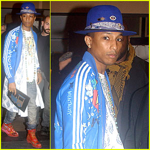 Pharrell Williams Sports Dark Eyeliner After 'Voice' News