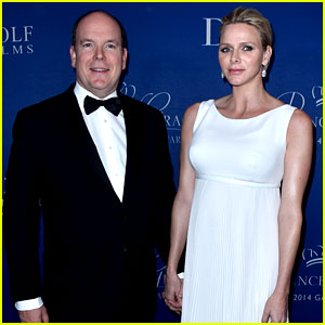 Princess Charlene Hits the Red Carpet, Is Pregnant with Twins!