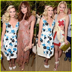 Reese Witherspoon Joins Dakota Johnson & Jaime King at CFDA/Vogue Fashion Fund Event!