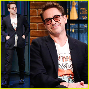 Robert Downey, Jr. Declares Himself 'Mayor of Comic-Con' on 'Late Night' - Watch Here!