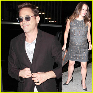 Robert Downey Jr Wife Susan Have Date Night In The Hamptons