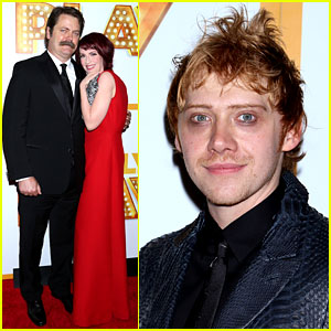 Rupert Grint Celebrates His Opening Night on Broadway!