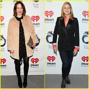 Sarah Paulson & Edie Falco Make It A Broadway Night at 'The Last Ship' Opening!