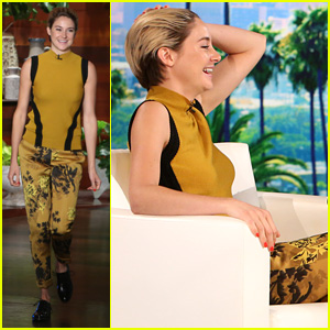 Shailene Woodley Talks Traveling with One Suitcase on 'Ellen'