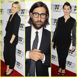Taylor Schilling & Rose McGowan Are The Ladies in Black for 'Listen Up Phillip' New York Premiere!