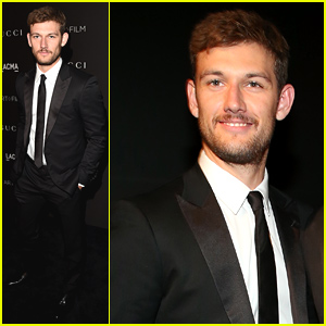 Alex Pettyfer Is All Suited Up for LACMA Art + Film Gala 2014!