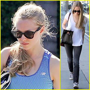 Amanda Seyfried Stays Dedicated to Working On Her Fitness
