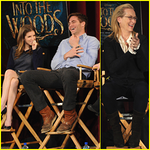 Anna Kendrick, Chris Pine & Meryl Streep Talk 'Into the Woods' - Watch Here!