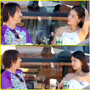 Anthony Kiedis Spends Thanksgiving with 20-Year-Old Girlfriend Helena Vestergaard