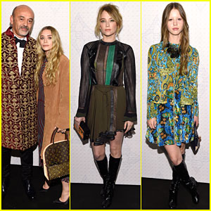 Ashley Olsen & Haley Bennett Celebrate Louis Vuitton