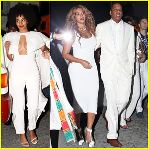 Beyonce & Jay-Z Celebrate Solange Knowles' Wedding to Alan Ferguson at New Orleans Second Line Parade!