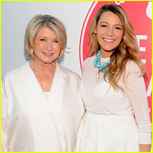 Blake Lively Gives Martha Stewart Permission to 'Creep' on Ryan Reynolds!
