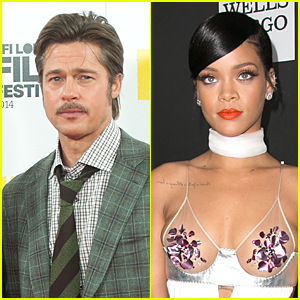 Brad Pitt Will Introduce Rihanna Before Diamond Ball Performance