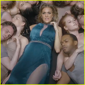 Carrie Underwood's Tiny Baby Bump Makes Appearance in 'Something in the Water' Music Video - Watch Now!