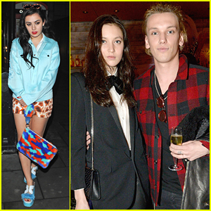 Jamie Campbell Bower & Lily Allen Party It Up With Sushisamba!