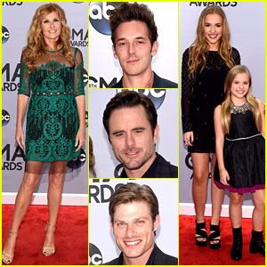 Connie Britton & 'Nashville' Cast Attend the CMA Awards 2014
