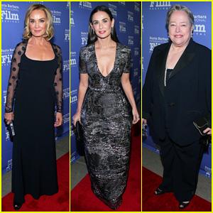 Demi Moore & Kathy Bates Help Honor Jessica Lange at the Santa Barbara International Film Festival 2014!