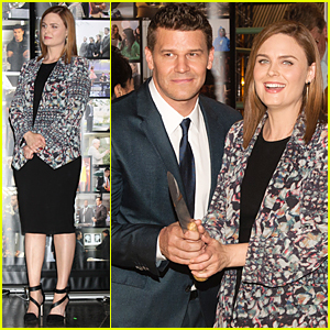 Emily Deschanel & David Boreanaz Celebrate Bones' 200th Episode!