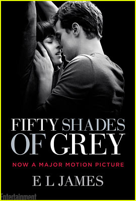 'Fifty Shades of Grey' Gets Steamy Hot Movie Tie-In Book Cover!