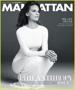Hilary Swank Embraces Her Strength & Feminity on 'Manhattan' November 2014 Cover