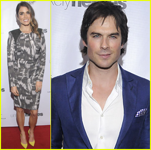 Ian Somerhalder & Nikki Reed Are 'Unlikely Heroes' Dinner Duo!