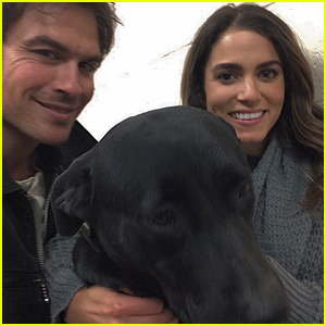 Ian Somerhalder & Nikki Reed Want You to Adopt This Dog!