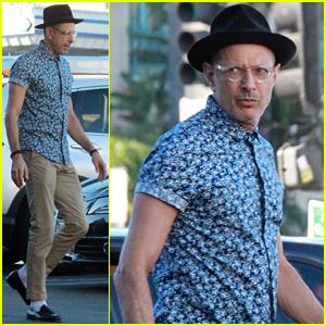 Jeff Goldblum Channels His Inner Heisenberg with Black Hat