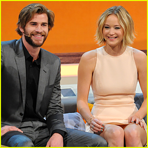 Jennifer Lawrence & Liam Hemsworth Start Promotional Tour For 'Mockingjay'