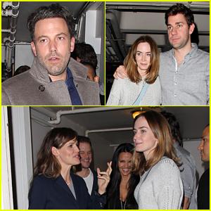 Ben Affleck & Jennifer Garner, Emily Blunt & John Krasinski, & Matt Damon & Luciana Go on a Triple Date!