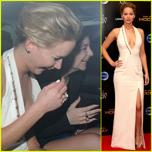 Jennifer Lawrence Laughs the Night Away with Lorde