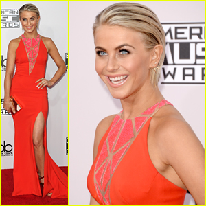 Julianne Hough Steals The Spotlight at AMAs 2014