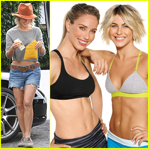 Julianne Hough Isn't Afraid to Show Off Her Abtastic Body in 'Shape' Shots
