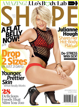 Julianne Hough Gets Into 'Shape' By Shocking Her Body