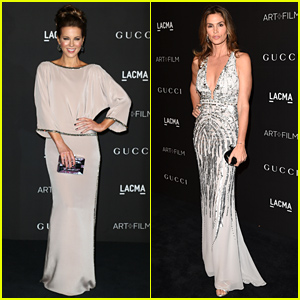 Kate Beckinsale & Cindy Crawford Are Stunners at the LACMA Art + Film Gala 2014!