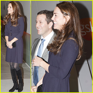 Pregnant Kate Middleton Shows Off Her Tiny Royal Baby Bump